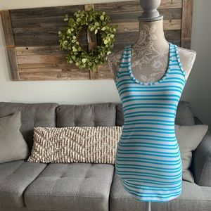 Lululemon Cool Racerback - Twin Stripe Spry Blue